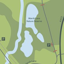 Marsh Lane Map