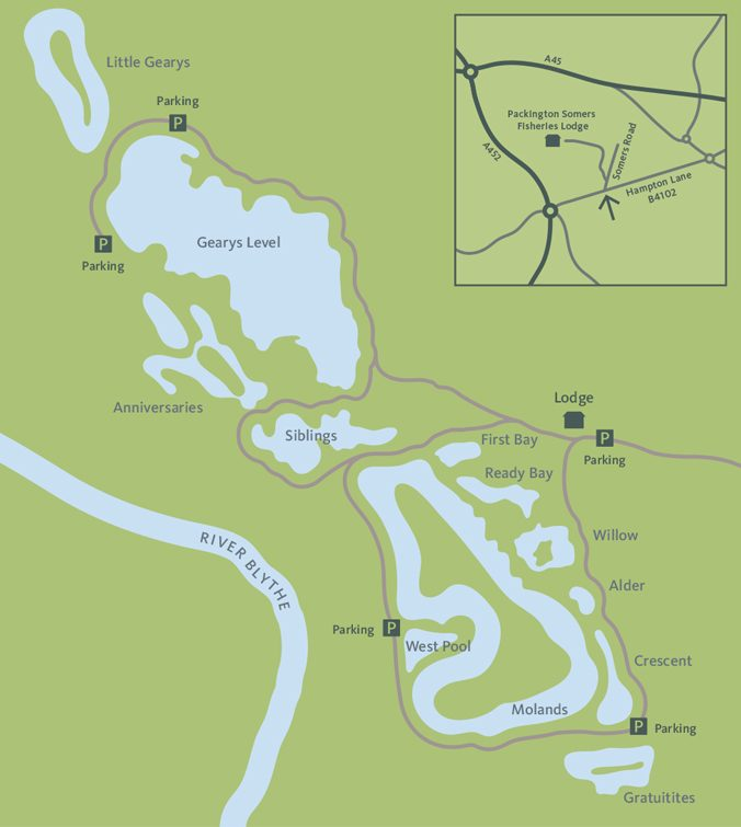 Coarse Fishing Map